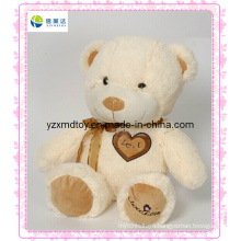 Plush Creamy Teddy Bear Wholesalers for Valentine′s Day