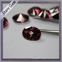 Rare Special Rhodorite Color Jewelry Findings CZ Stone