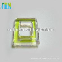Colgante cuadrado grande de diamantes CP032