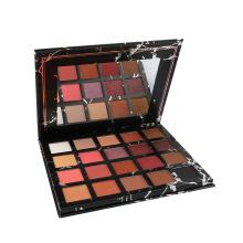 Wholesale 2021 New design 20 Colors Eye shadow Palette Private Label Custom Makeup Cardboard Eyeshadow Palette