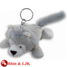 Meet EN71 and ASTM standard ICTI plush toy factory stuffed animal keychain
