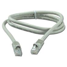 Gato de cobre 6 cable de fibra óptica cat6 ftp 300m, cable de cable de 25 pares 6 conector rj45 de cable