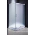 Salle de douche en verre bon marché d'articles sanitaires