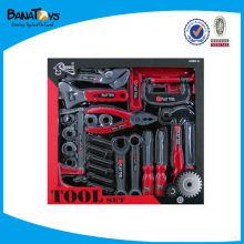 Conjunto de ferramentas de brinquedo de plástico para crianças