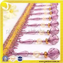 2015 NEW STOCKl Chinês Cortina Tassel Beads Fringe Trims para Cortina, Cortina Acessório