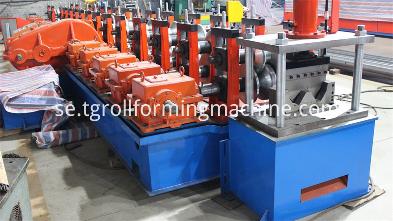 Two-wave Road Guardrail Roll Forming Machine