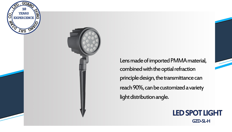 9W led spike light