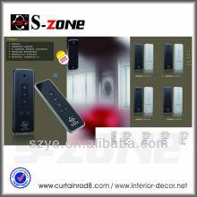 AC 100-240V rails de rideaux motorisés télécommande sans fil projets de fournitures de maison