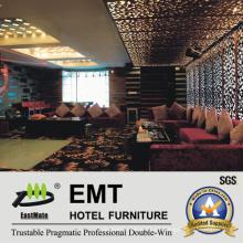 El más nuevo diseño de lujo de la manera del sofá de KTV fijó (EMT-KTV07)