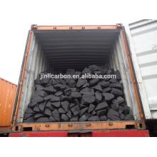 sucata de ânodo de carbono / bloco de carbono / anodo de carbono bloco de combustível de queima para a fundição de cobre