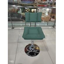 Upholstered Bar Stools Stainless Steel Chair