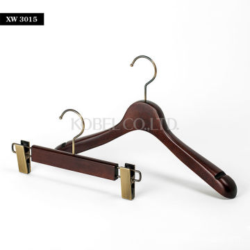 Japanese Beautiful Finished Wooden Hanger for dress pants XW3015-0002 Made In Japan Product