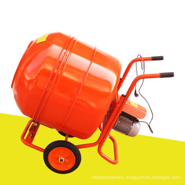 Hot Sale Africa electric Motor Gasoline Engine Diesel Mini Mobile Cement Mixer with200L,300L,350L,400L,500L Charging Capacity
