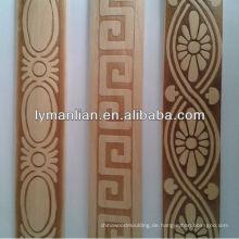 Geprägte Holzleiste