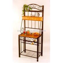 Home Iron Display Rack Cadre en métal pour la mise en place
