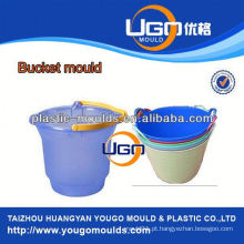 TUV assesment mold factory / new design paint bucket cover mold in China