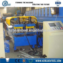 Cizalla hidráulica automática CE estándar europeo PLC Control CZ Canal de pista y pernos Roll Roll Formación de línea de producción