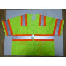 High-Visibility Safety Vest Reflective Vest with 3m Reflective Tape