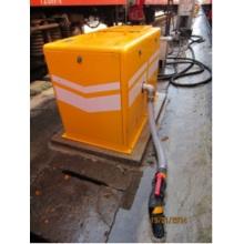 Sistema de descarga de aguas residuales al vacío