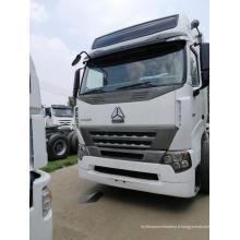 Camion de tête de tracteur 6x4 LHD 420HP A7 d'occasion