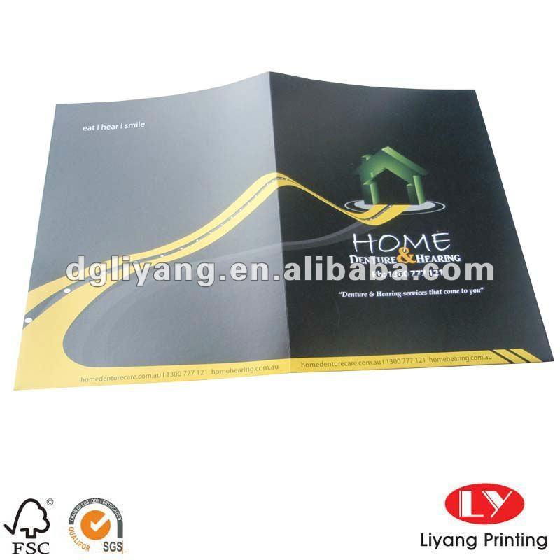 custom paper file folder