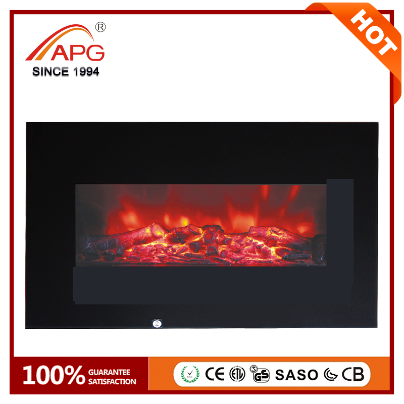 2017 APG Fake Decorative Electric Fireplace Heater
