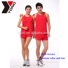 YONO Marca Escola e Clube Correndo Sports Wear Custom Sportswear Unisex Sublimação Corrida desgaste