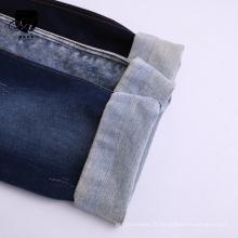 Coton Viscose Spandex Stretch Denim Tissu polyester