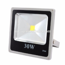 Ultra slim AC 85V-265V aluminum housing ip65 white 30w flood led light lamp