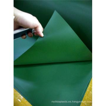 Árbol de navidad que adorna el rollo rígido del PVC de la película del PVC