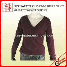 Suéter 100% lana merino para mujer