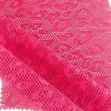 Tissu jersey jacquard à motif géométrique