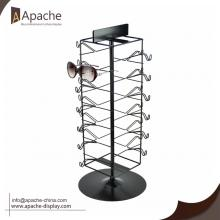 OEM for Sunglasses Display Rack,Glass Counter Display,Sunglasses Display Stand Manufacturers and Suppliers in China Metal Eyewear Sunglasses Counter Display Stand export to Kenya Exporter