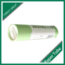 Kundenspezifische Farbe Karton Papier Tube mit Logo