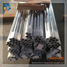 Vente chaude de la série 2000 de tubes en aluminium anodisé par tonne