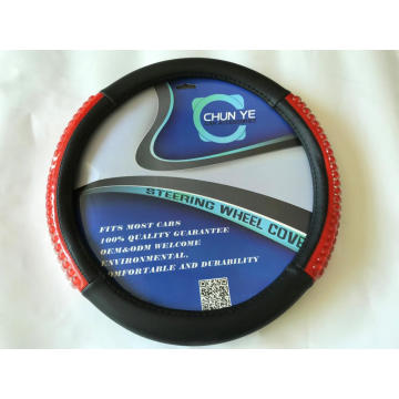 New bling pu steering wheel cover
