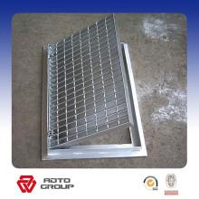Rejilla de metal decorativa de acero