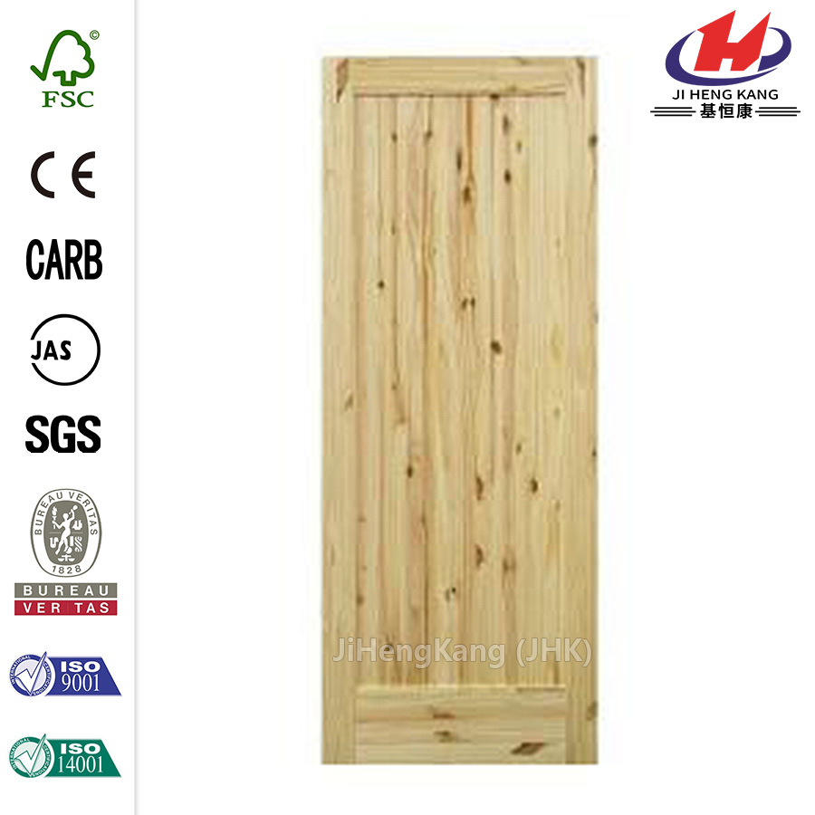 Knotty Pine Right-Hand Single Prehung Interior Door