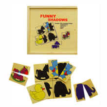 Wooden Matching Shadow Toy (80924)
