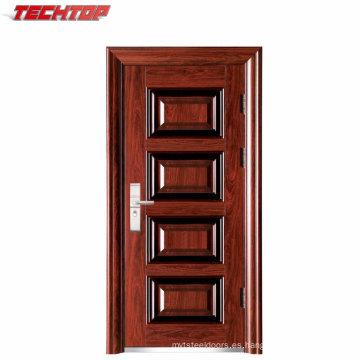 TPS-043 Design Iron Exterior Factory Factory Banco puerta de seguridad colores