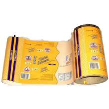 Película blanda Embalaje de alimentos / Película de envasado de alimentos de plástico