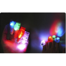 Promotional Customized Party Colorful Plastic LED Finger Light