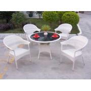 Cafe Set wicker furniture