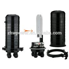 Dome type 2in 2out 24/48/96 fibre optique à base de cloison, machine à épisser des fibres optiques, boîte à fibres optiques