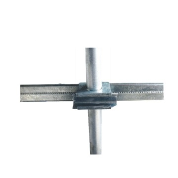 Locking Channel Profile and Pipe Fixing Connector