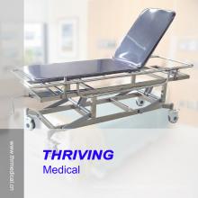 Медицинская тележка с тележкой из нержавеющей стали (THR-E-5)