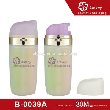 Schöne kosmetische Creme Probe Hautpflege Flasche und Verpackung