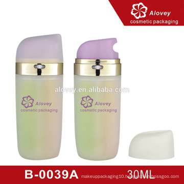 beautiful cosmetic cream sample skin care bottle and packaging