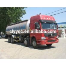 Camión cisterna de cemento a granel de 3 ejes con buen rendimiento