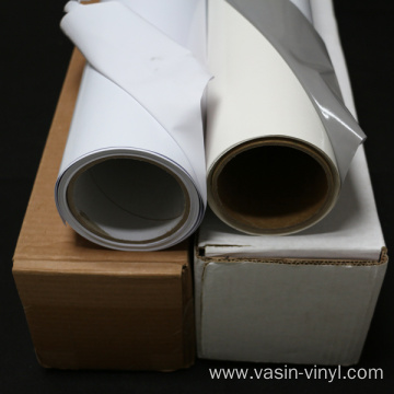 White Printable Removable Self Adhesive Vinyl Film